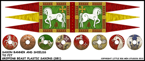 SAXON-BANNER-AND-SHIELDS