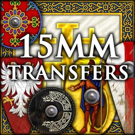 15mm transfers