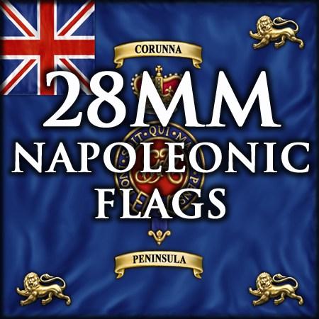 28mm Napoleonic flags